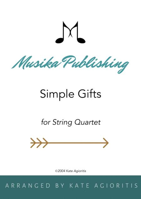 Simple Gifts - for String Quartet