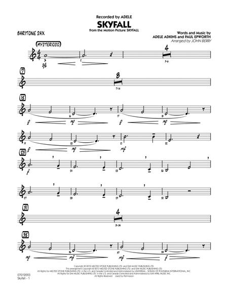 Skyfall - Baritone Sax