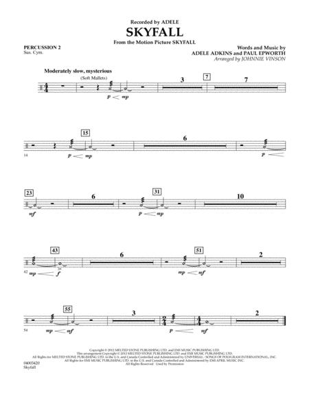 Skyfall - Percussion 2