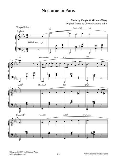 Nocturne in Paris - Romantic Piano Music