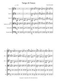 Tango Al Fresco for Beginning String Orchestra