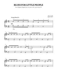 Blues for Little People, piano late elementary