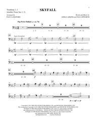 Skyfall - Trombone 1 & 2