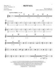 Skyfall - Tenor Sax 1 & 2