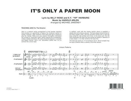 It's Only a Paper Moon - Conductor Score (Full Score)