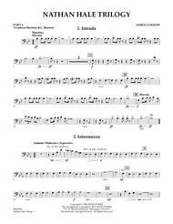 Nathan Hale Trilogy - Pt.4 - Trombone/Bar. B.C./Bsn.