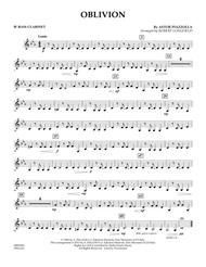 Oblivion - Bb Bass Clarinet