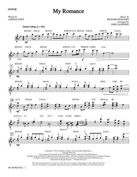 My Romance - Guitar