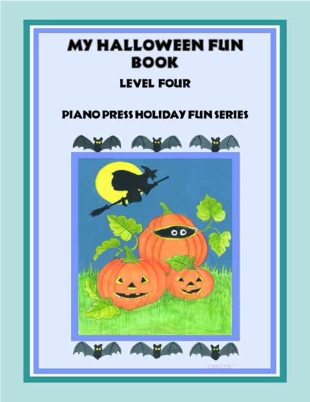 My Halloween Fun Book Level Four