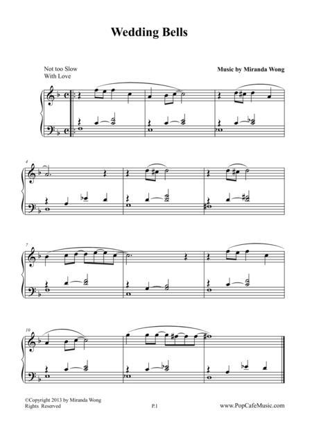 Wedding Bells - Romantic Piano Music