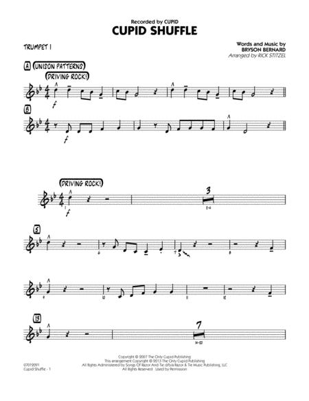 Cupid Shuffle - Trumpet 1