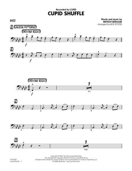 Cupid Shuffle - Bass