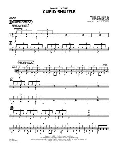 Cupid Shuffle - Drums