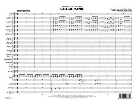 Call Me Maybe - Conductor Score (Full Score)