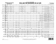 You Are the Sunshine of My Life (Key: C) - Conductor Score (Full Score)