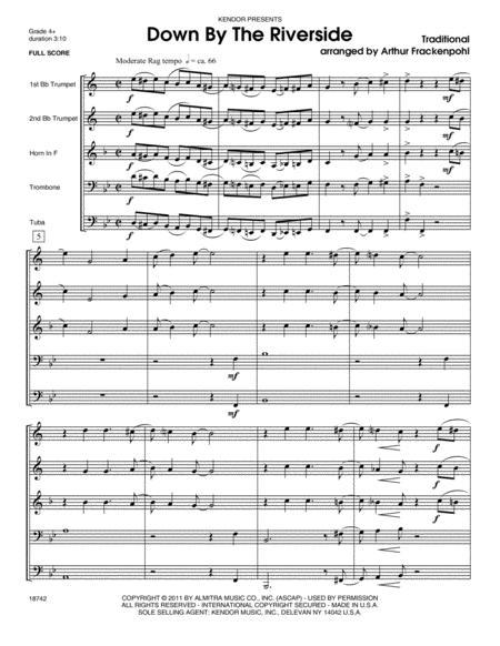 Down by the Riverside - Full Score