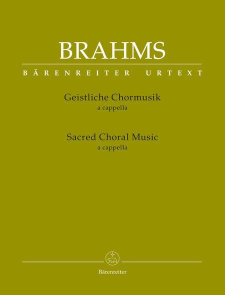 Sacred Choral Music For choir a cappella
