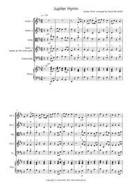 Jupiter Hymn for String Quartet