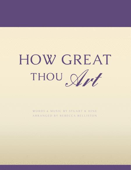 How Great Thou Art (C Instrument)