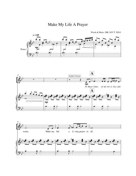 Make My Life a Prayer