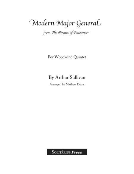 Modern Major General for 5 Winds