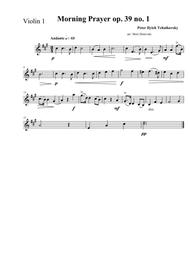 Morning Prayer-arr for string quartet