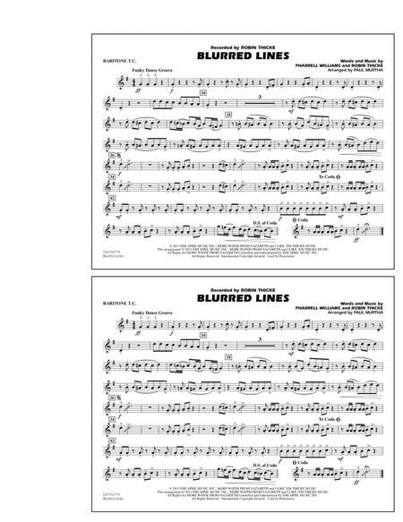 Blurred Lines - Baritone T.C.