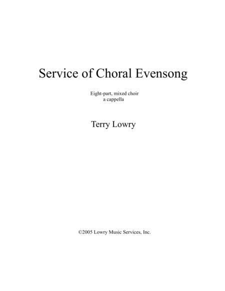 Sevice of Choral Evensong