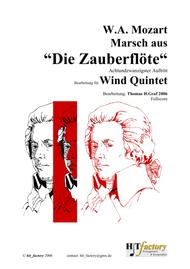 The Magic Flute, Mozart - March (Wind Quintet)