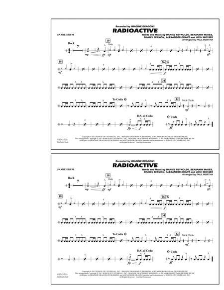 Radioactive - Snare Drum