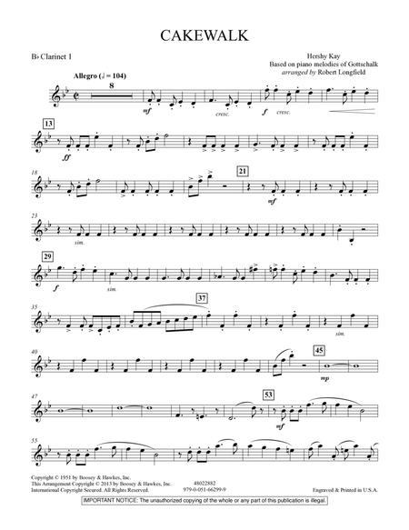 Cakewalk - Bb Clarinet 1