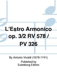 L'Estro Armonico Op. 3/2 RV 578