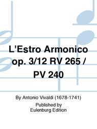 L'Estro Armonico Op. 3/12 RV 265