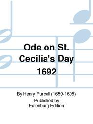 Ode on St. Cecilia's Day 1692 Z 328