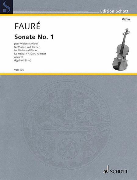 Sonata No. 1 A major op. 13