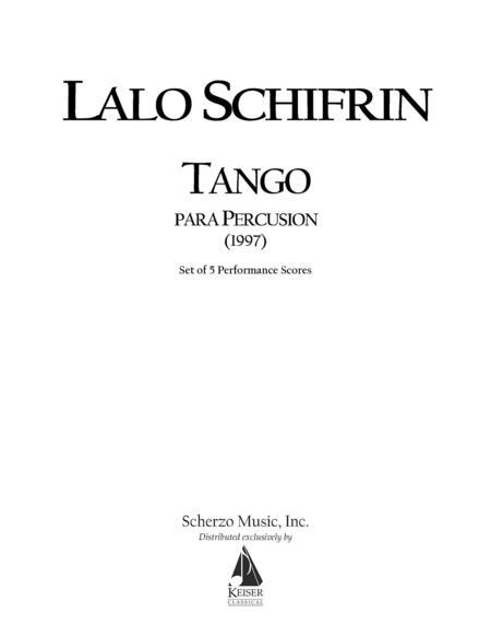 Tango Para Percusion (Tango for Percussion)