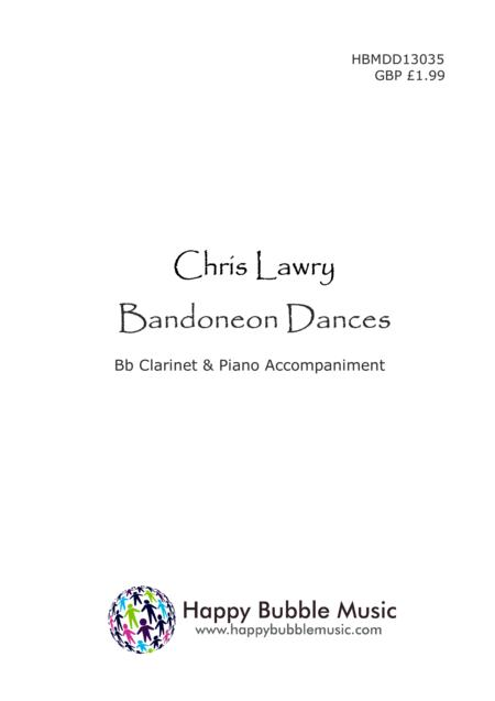 Bandoneon Dances - for Bb Clarinet & Piano (from Scenes from a Parisian Cafe)