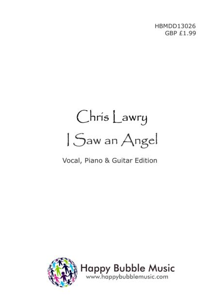 I Saw an Angel (Piano Vocal Guitar Score) A Carol for Children