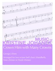 Crown Him with Many Crowns (2 octave handbells, tone chimes or hand chimes)