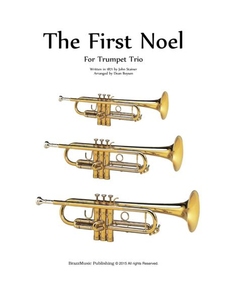 The First Noel - Trumpet Trio