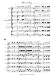 1812 Overture for Flute Quartet