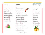 Christmas Songs Folios 1 & 2