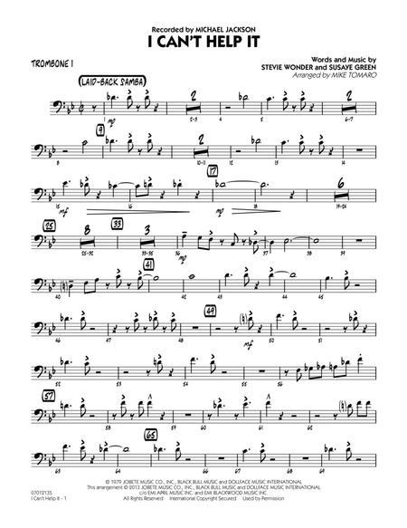 I Can't Help It - Trombone 1