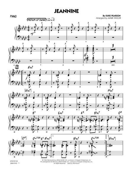 Jeannine - Piano