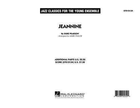 Jeannine - Conductor Score (Full Score)