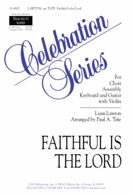 Faithful Is the Lord - Guitar edition