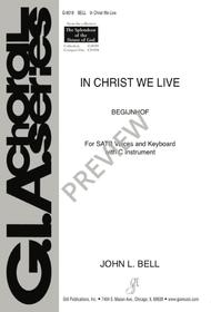In Christ We Live