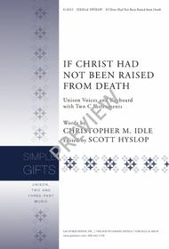 If Christ Had Not Been Raised from Death