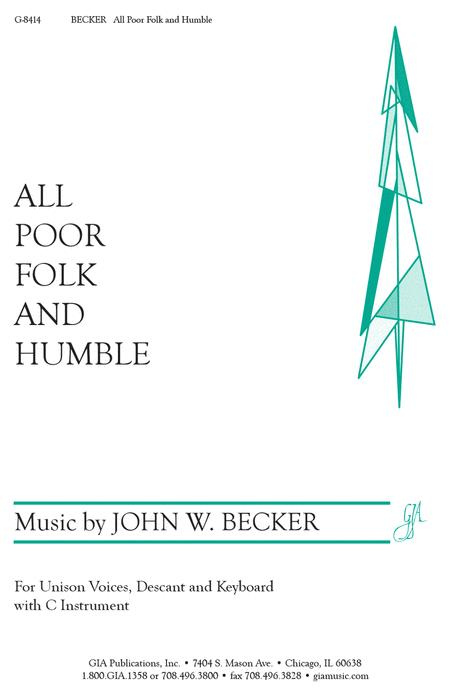 All Poor Folk and Humble