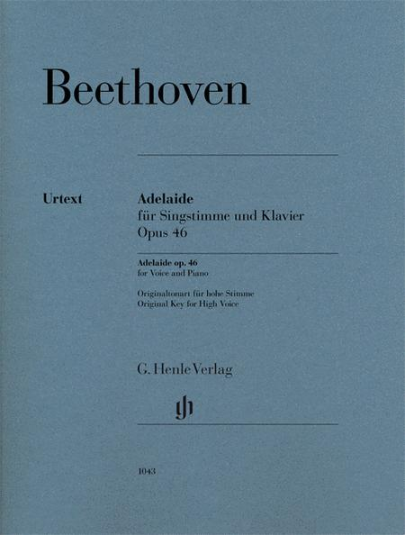 Adelaide Op. 46 for Voice and Piano